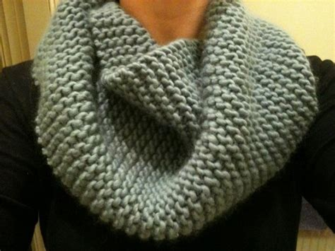 knitting pattern for infinity scarf on straight needles wham bam thank you lamb awesome cowl pattern straight