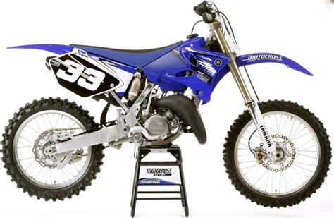 motocross bike makes mxa s 2012 yamaha yz125 motocross test a bike that makes