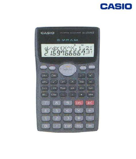 calculator online casio casio scientific calculator fx 100ms pack of 10 buy