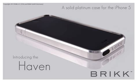fundas of physics brikk launches solid gold and platinum cases for iphone 5
