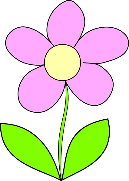 clipart flower purple flower 7 clip at clker vector clip