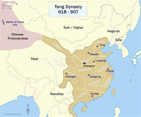 tang dynasty map the illustrious tang dynasty 618 907