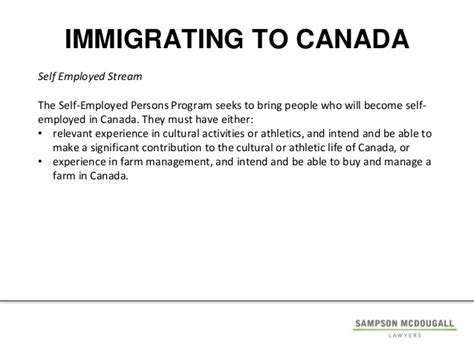 Canada Visa Letter From Current Employer Cbu Immigration Presentation October 22 2014