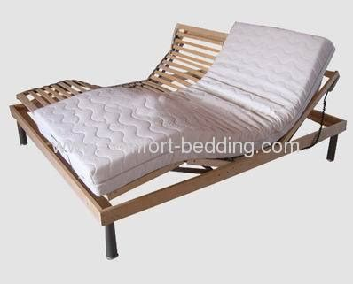 birch wood electric bed base slat bed frame manufacturers and suppliers in china