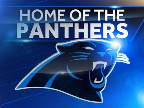 wyff 4 is now official station of carolina panthers