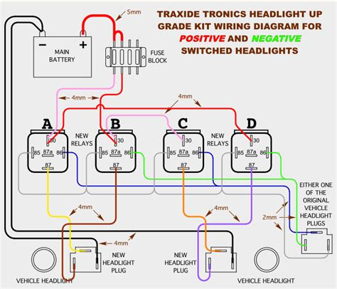negative switching lights how to wire up driving lights