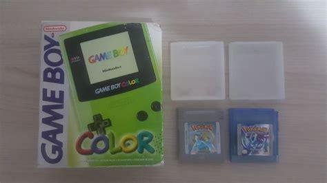nintendo gameboy color nintendo gameboy color 2 pok 233 mon catawiki