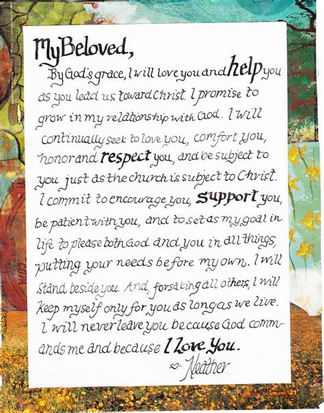 Wedding Vows Christian by 25 Best Ideas About Christian Wedding Vows On