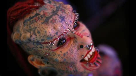imagenes impactantes de venezuela los impactantes rostros de la feria de tatuajes de