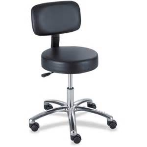 Stool Chair With Back Safco 3430bl Pneumatic Lab Stool With Back