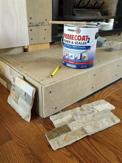 How To Build A Fireplace Hearth by Diy Fireplace Makeover At Home With The Barkers