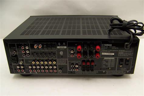 yamaha htr  home theater power receiveramplifier