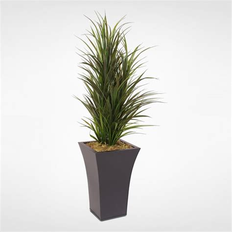 orren ellis artificial floor dracaena grass bush plant