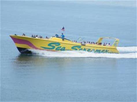 speed boat orlando seascreamer speedboat ride clearwater beach florida
