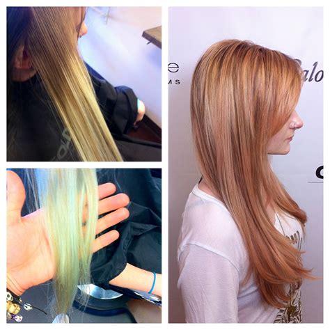 Rose Gold Hair Color Formula Goldwell