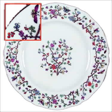 pattern for name in php spode china shanghai china dinnerware pattern