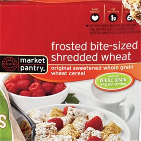 Market Pantry Recipes by Target Market Pantry Frosted Bite Sized Shredded Wheat