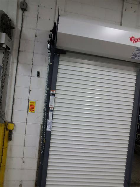Door Overhead Roll Door With Door