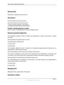 qualitative research protocol template jbi sr protocol template qualitative research meta
