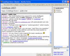 chat room embarcadero chat system user guide