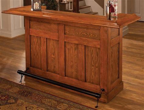 Buy Basement Bar Furniture Hillsdale Classic Cherry Large Bar 62578 88