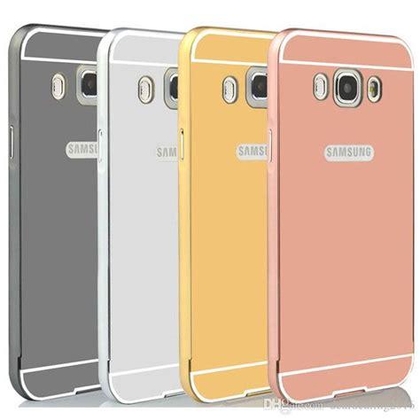 Best Seller J5 2015 J500 J500f Mirror Cover Flip For mirror for samsung galaxy j5 2015 j500 j500f 2016 j5100 luxury golden plated aluminum frame