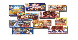 Lunch box treats little debbie s just 1 24 rare coupon