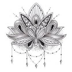 Lotus Mandala Design Best 10 Lotus Flower Mandala Ideas On Lotus