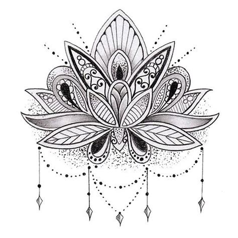 tattoo lotus flower mandala mandala lotus flower my shop pinterest beautiful