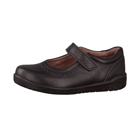 ricosta shoes ricosta lillia black leather school shoes school
