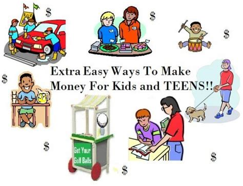 Kids Make Money Online - free money making ideas 1001 plus money making ideas