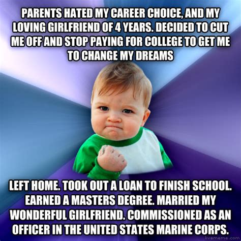 Will Companies Pay For Me To Get My Mba by Livememe Success Kid