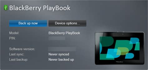 reset blackberry using desktop software how to back up and restore a blackberry playbook using