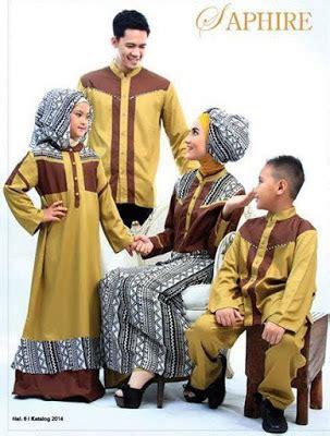 Baju Muslim Pesta Formal 25 model baju muslim keluarga untuk pesta formal