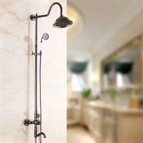 European Shower Faucet by European Style Rubbed Bronze Bathroom Outside Shower