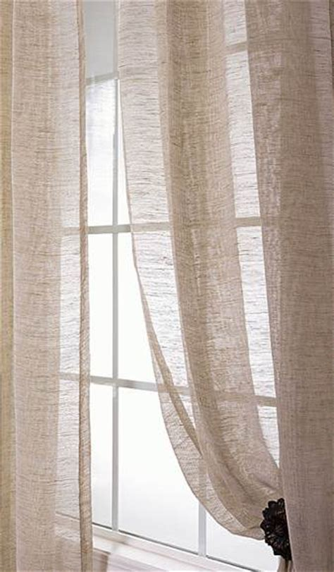 sheer linen drapery panels 96 sheer panel curtain curtain design