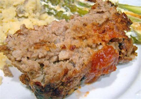 Meatloaf Recipe by Easy Meatloaf With Shredded Wheat Recipe Food Com