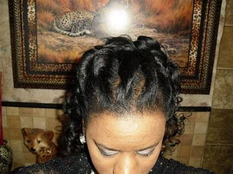 Front Twist Hairstyle by 3d Twist Front Roller Set Back Hairstyle 2nd Day