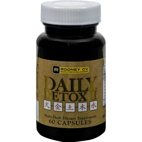 Daily Multi Detox Test by Wellements Daily Detox Ii Multi Herb 60 Capsules