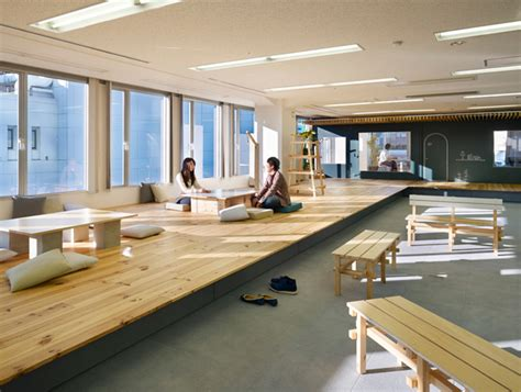 Japanese Style Interior zappallas corporate headquarters by suppose design office