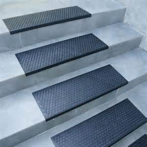 coin grip rubber step mats