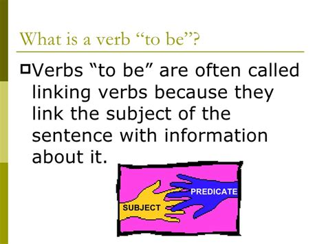 forms of the verb quot to be quot
