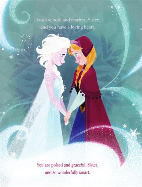 frozen film elsa s sister a sister more like me book illustrations elsa and anna