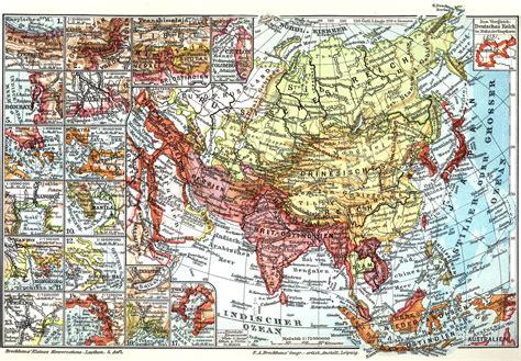 Asiat Gebirge by Asien Gebirge Karte