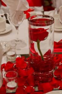 roses centerpieces submersed centerpiece flamenco quinceanera