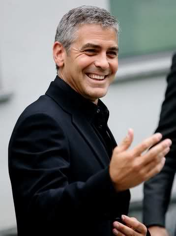 Clooney Attends Armanis Menswear Show by Damn He S George Clooney Attends Armani Fashion Show