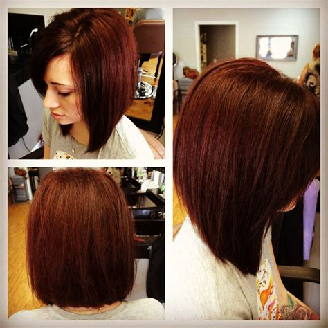 layered swing bob long swingbob long swing bob long hairstyles