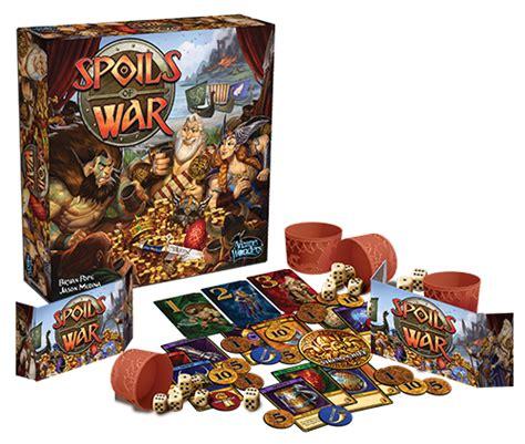 Spoils Of War Board arcane wonders taking pre orders for spoils of war