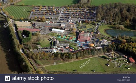 theme park yorkshire aerial view of lightwater valley theme park near ripon