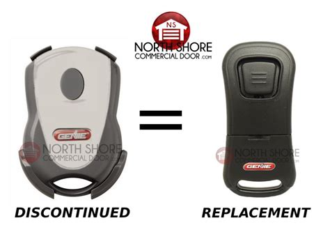 Replacing A Garage Door Opener Remote Genie Garage Door Opener Intellicode Remote Transmitter Gictd 1